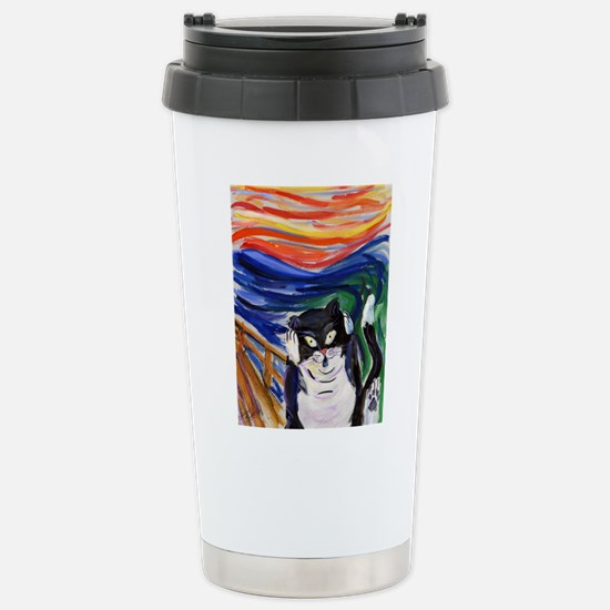 Kitty Scream Travel Mug