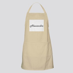 Alessandro Classic Style Name Apron