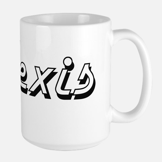 Alexis Classic Style Name Mugs