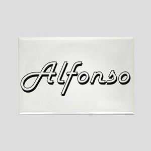 Alfonso Classic Style Name Magnets