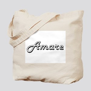 Amare Classic Style Name Tote Bag