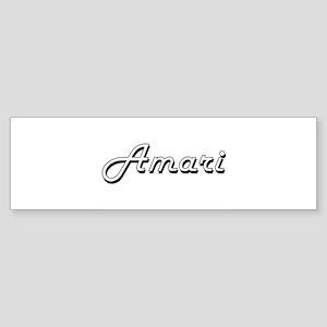 Amari Classic Style Name Bumper Sticker