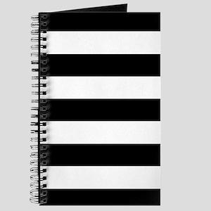 Black & White Stripes Journal