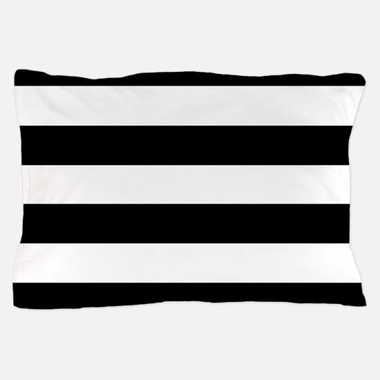 Black & White Stripes Pillow Case