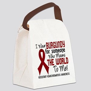 Hereditary Hemochromatosis MeansW Canvas Lunch Bag