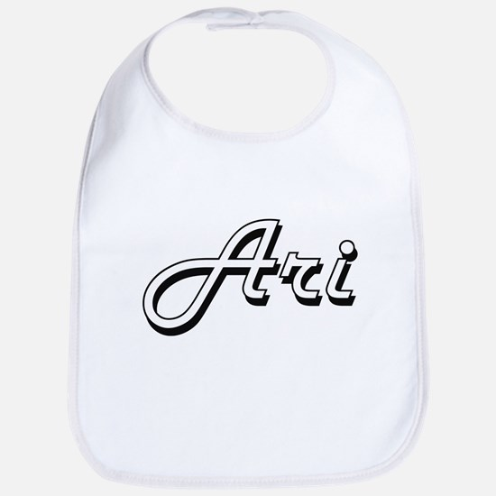 Ari Classic Style Name Bib