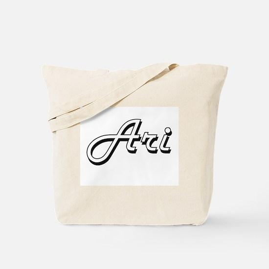 Ari Classic Style Name Tote Bag