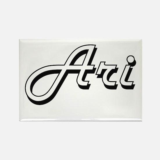 Ari Classic Style Name Magnets