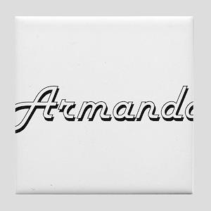 Armando Classic Style Name Tile Coaster