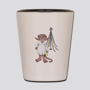 Monkey Gnome May Queen Shot Glass