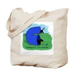Black & Tan Dachshund Agility Tote Bag