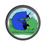 Black & Tan Dachshund Agility Wall Clock