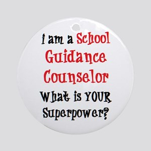 school guidance counselor Ornament (Round)