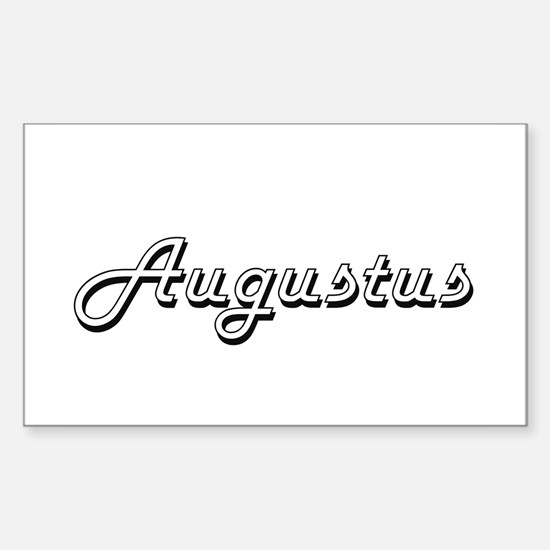 Augustus Classic Style Name Decal