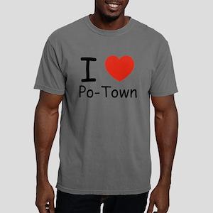 i heart copy Mens Comfort Colors Shirt