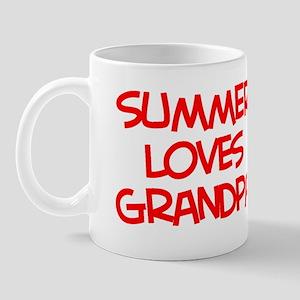 Summer Loves Grandpa Mug