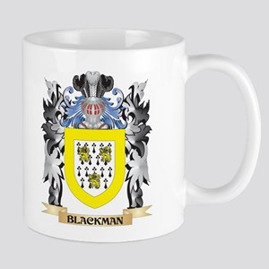 Blackman Coat of Arms - Family Crest Mugs