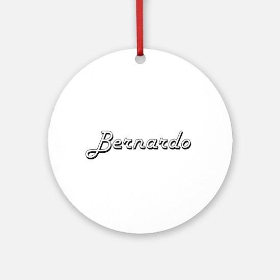 Bernardo Classic Style Name Ornament (Round)
