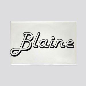 Blaine Classic Style Name Magnets