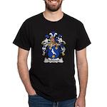Scharer Family Crest Dark T-Shirt