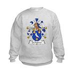 Scharer Family Crest Kids Sweatshirt