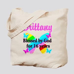 BLESSED 16 YR OLD Tote Bag