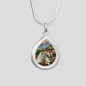 White Dragon In Fairy Land Necklaces