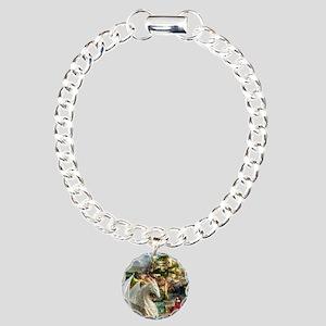 White Dragon In Fairy Land Bracelet