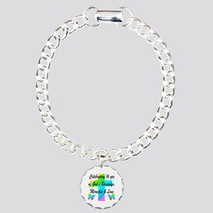 BLESSED 16 YR OLD Charm Bracelet, One Charm