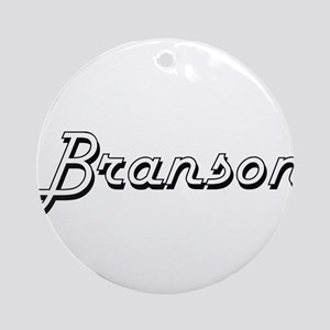 Branson Classic Style Name Ornament (Round)