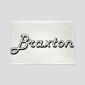Braxton Classic Style Name Magnets