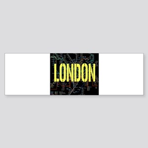 London Tube Bumper Sticker