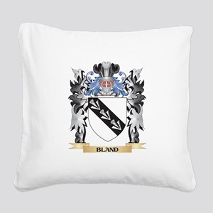 Bland Coat of Arms - Family C Square Canvas Pillow