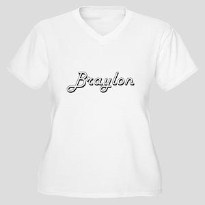 Braylon Classic Style Name Plus Size T-Shirt