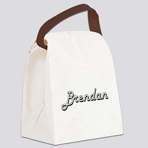 Brendan Classic Style Name Canvas Lunch Bag