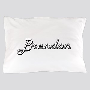 Brendon Classic Style Name Pillow Case