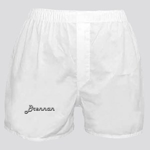 Brennan Classic Style Name Boxer Shorts