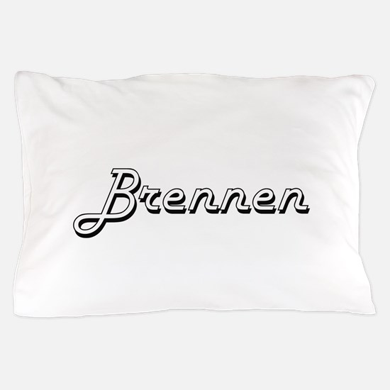 Brennen Classic Style Name Pillow Case