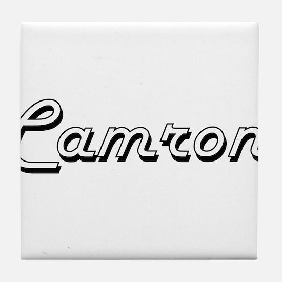 Camron Classic Style Name Tile Coaster