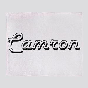 Camron Classic Style Name Throw Blanket