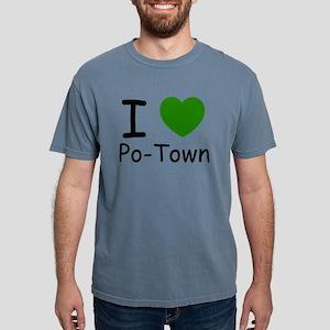 i heart green Mens Comfort Colors Shirt