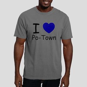 i heart blue copy Mens Comfort Colors Shirt