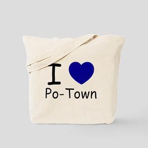 i heart blue copy Tote Bag
