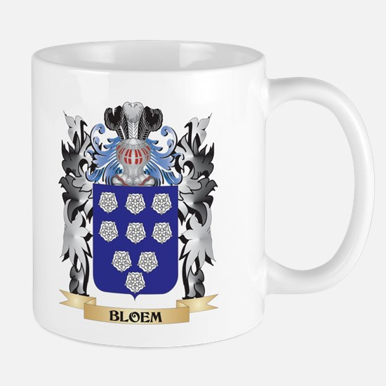 Bloem Coat of Arms - Family Crest Mugs
