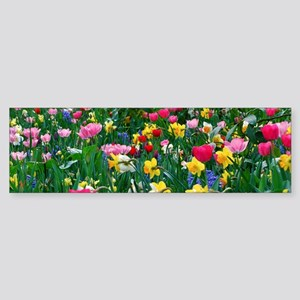 Flower Garden Bumper Sticker