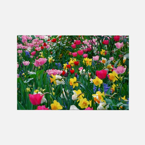 Flower Garden Magnets