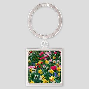 Flower Garden Keychains