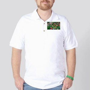 Flower Garden Golf Shirt