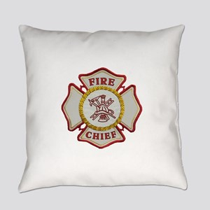 Fire Chief Maltese Everyday Pillow