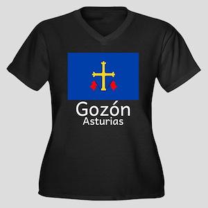 Gozon E Plus Size T-Shirt